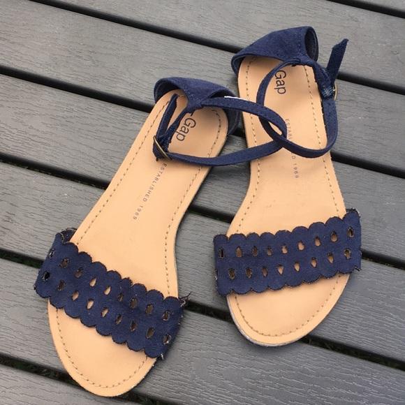 GAP Shoes | Gap Girls Navy Blue Sandals